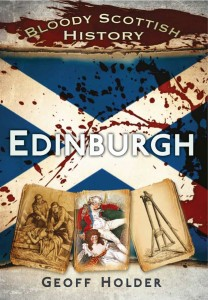 Bloody history edinburgh cover
