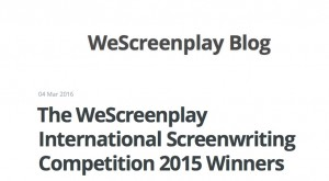 wescreenplay4th place